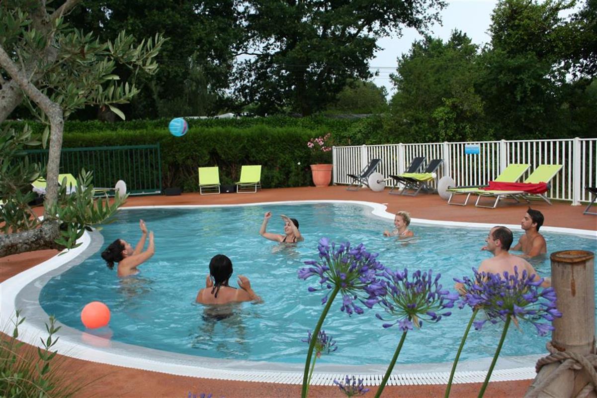 Piscine chauff e piscine chauff e dans le sud morbihan for Piscine morbihan